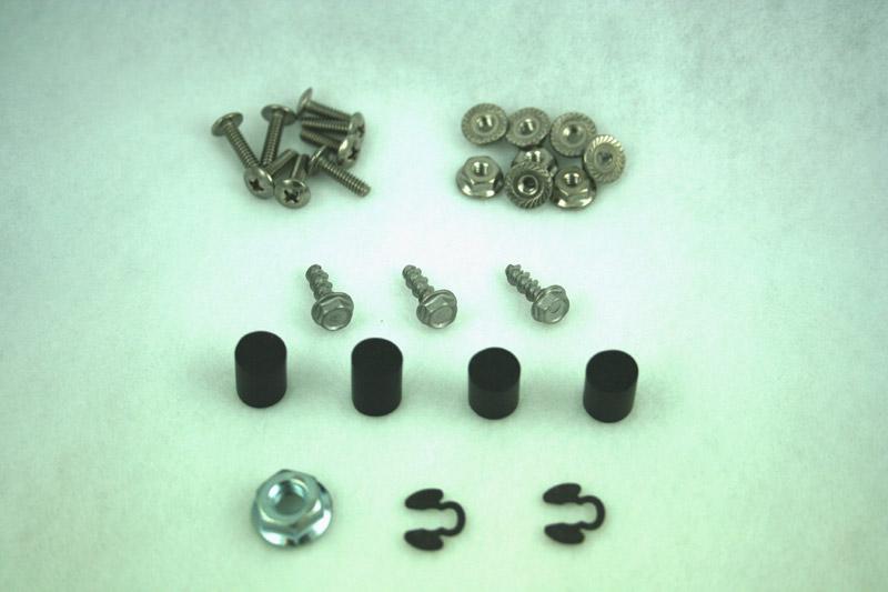 2.000, headlight actuator rebuild kit, 84-86
